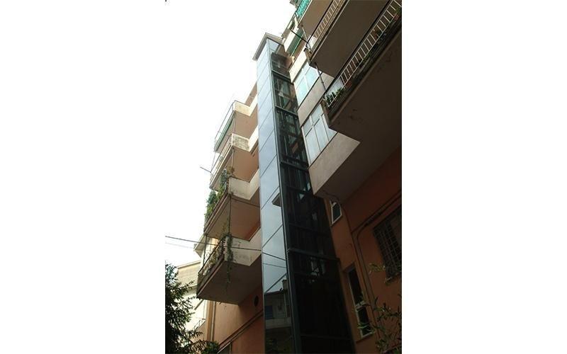 ascensori esterni roma