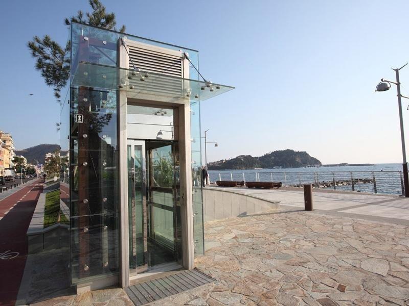 ascensori in vetro