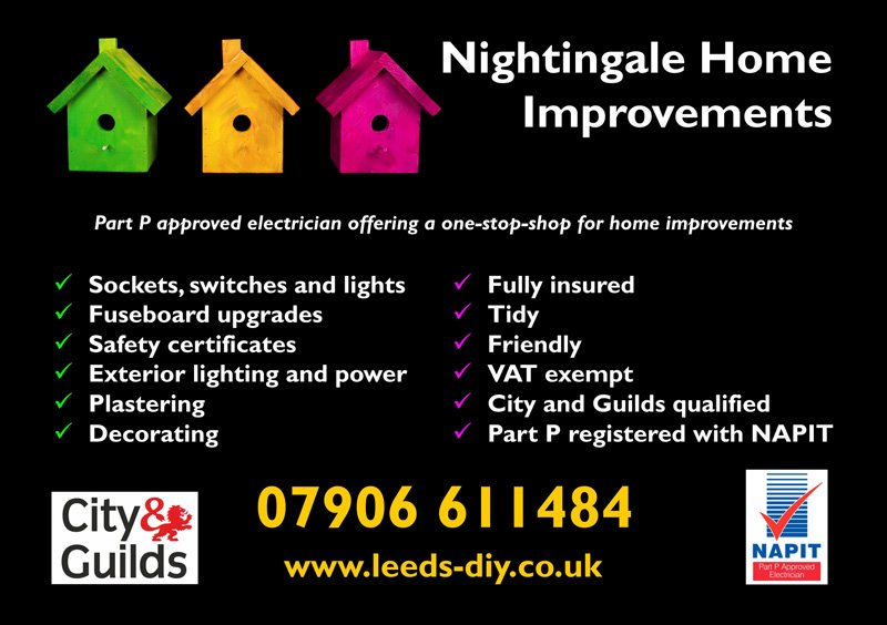 Nightingale home improvements poster