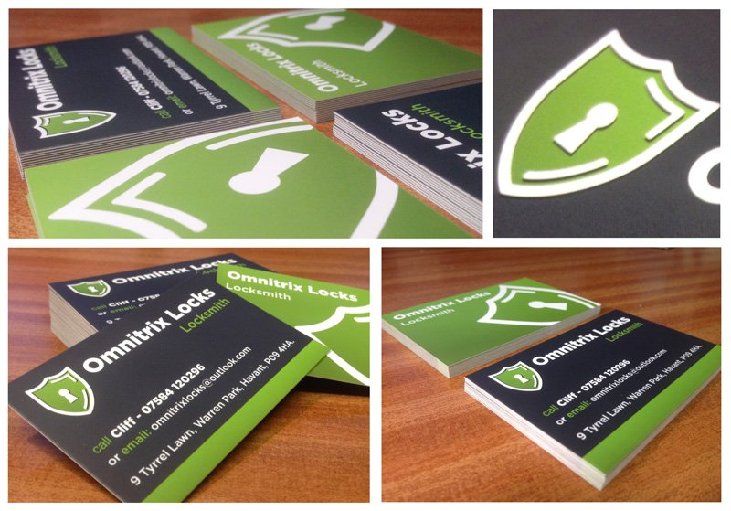 Locks business cards
