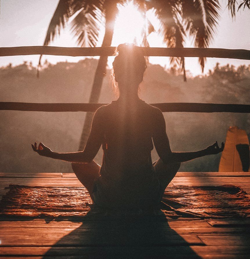 A morning yoga session by Jared Rice on on unsplash.com for Decks N Pergolas