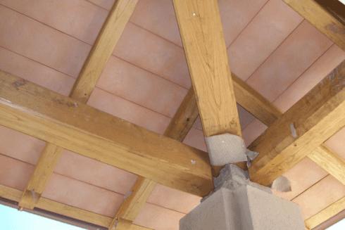 tetto legno lamellare
