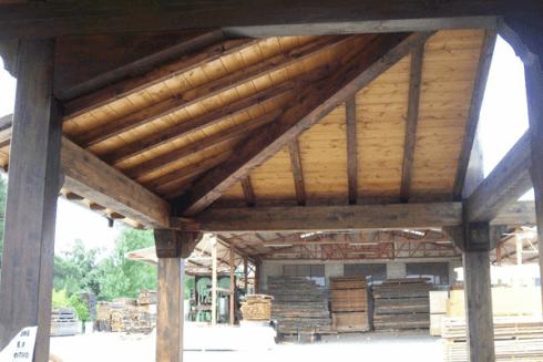 copertura edile legno