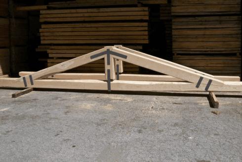 tetto coperture legno