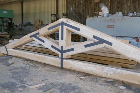 copertura legno