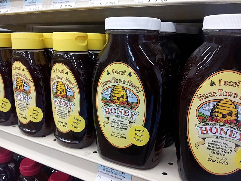 organic honey - Danville, CA