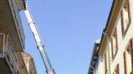 autoscale per manutenzione tetti