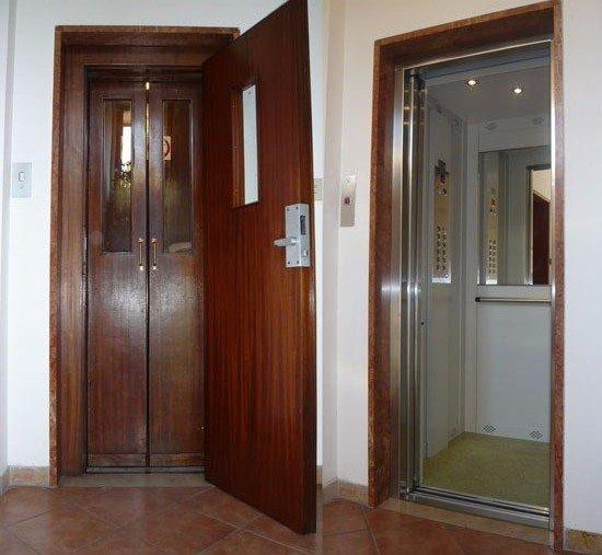aperture porte ascensore