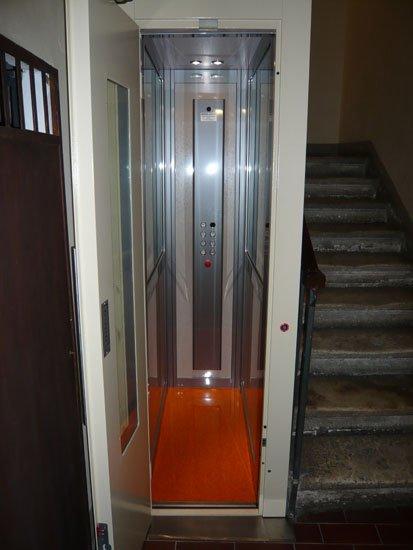ascensore rettangolare