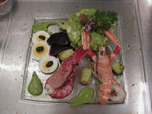 antipasto di mare ristorante