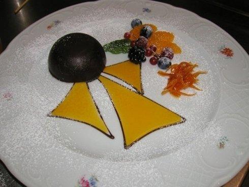 dolce speciale della casa ristorante