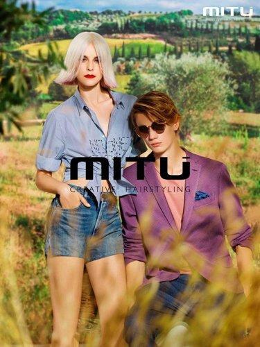 modelli bionda e castano per il marchio MITU