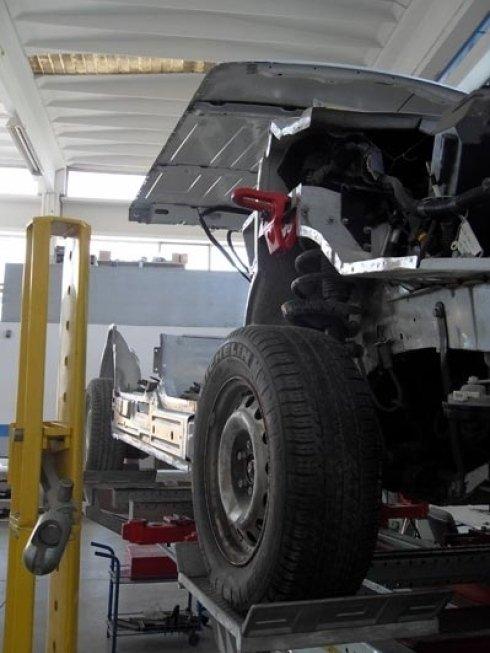 Rifacimento carrozzeria auto