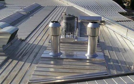 tetti in ferro
