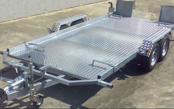 carrellli in alluminio
