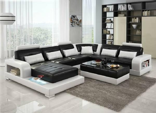 Homelegance Pecos Modern Design Double Reclining Sofa