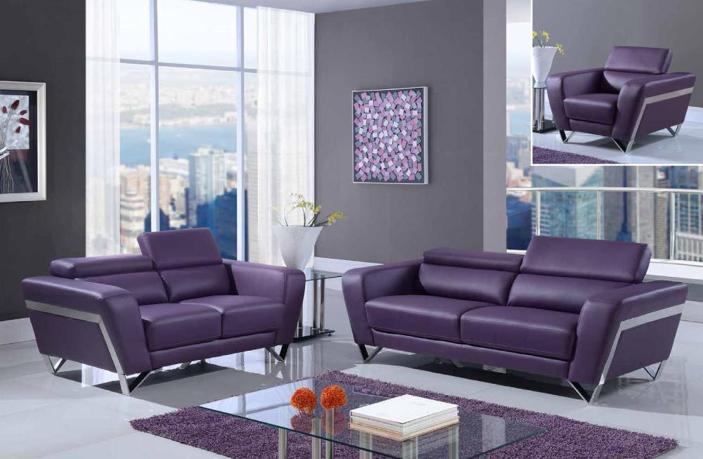 Living Room : global furniture u7120 p purple sofa loveseat and chair 420 20Copy 1000x653 from www.blessedfurniture.com size 1000 x 653 jpeg 92kB