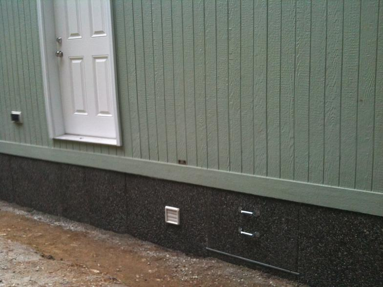 mobile home skirting