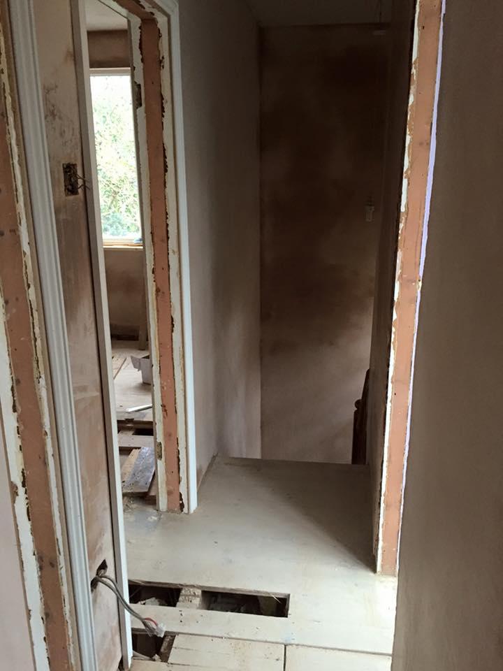 domestic plastering
