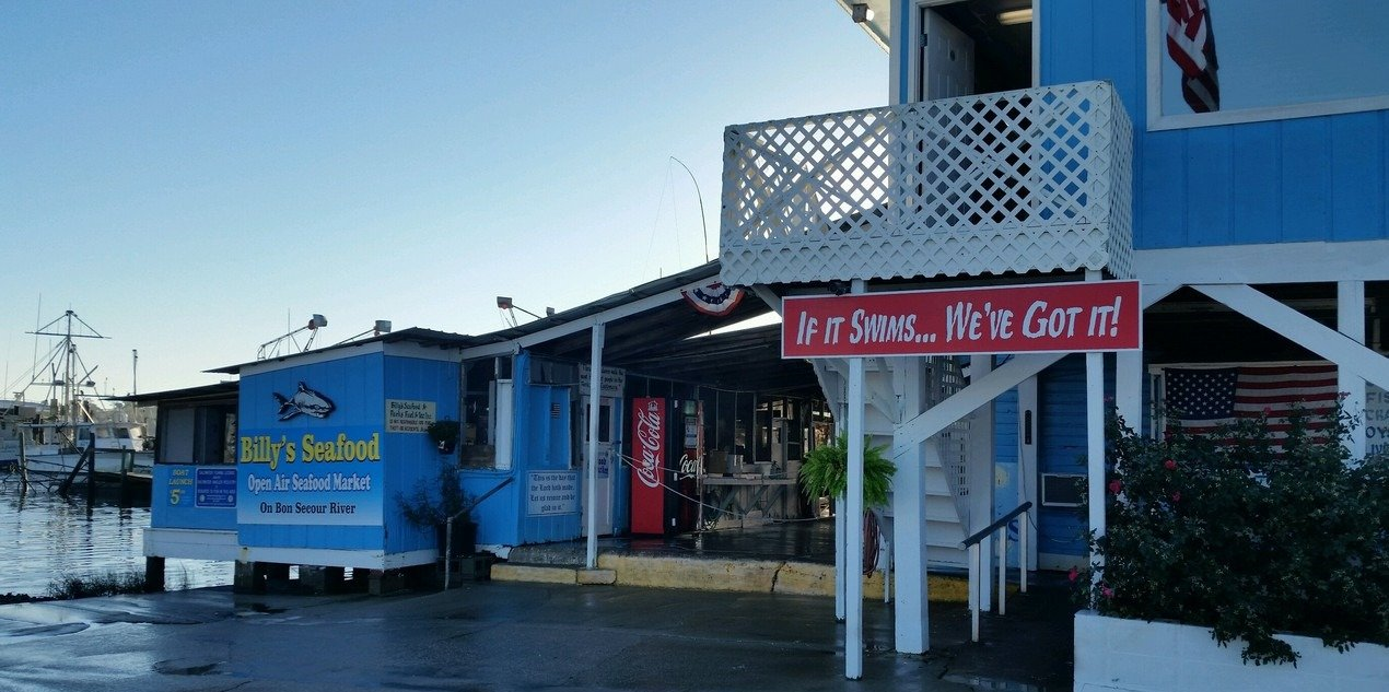 Get fresh seafood in Bon Secour