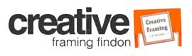 creative framing findon logo