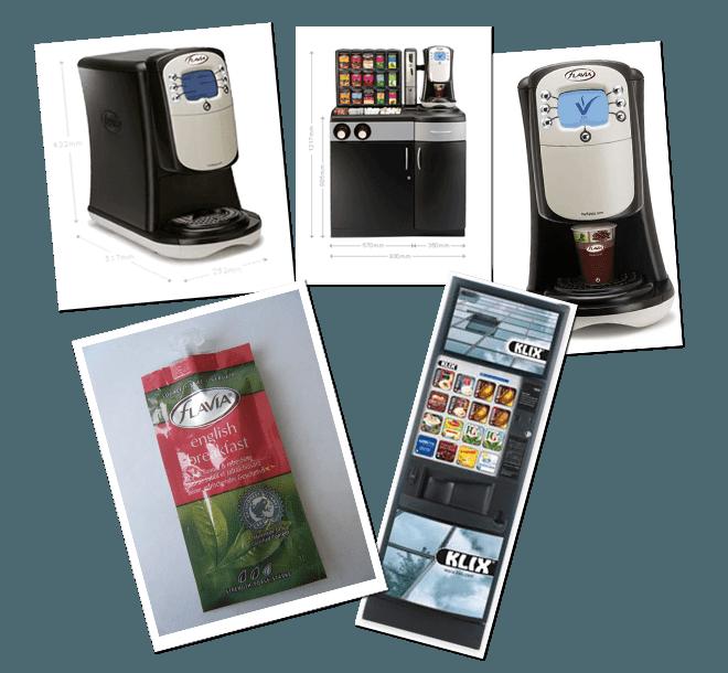 Klix Machines Flavia Cornwall Cornish Coffee
