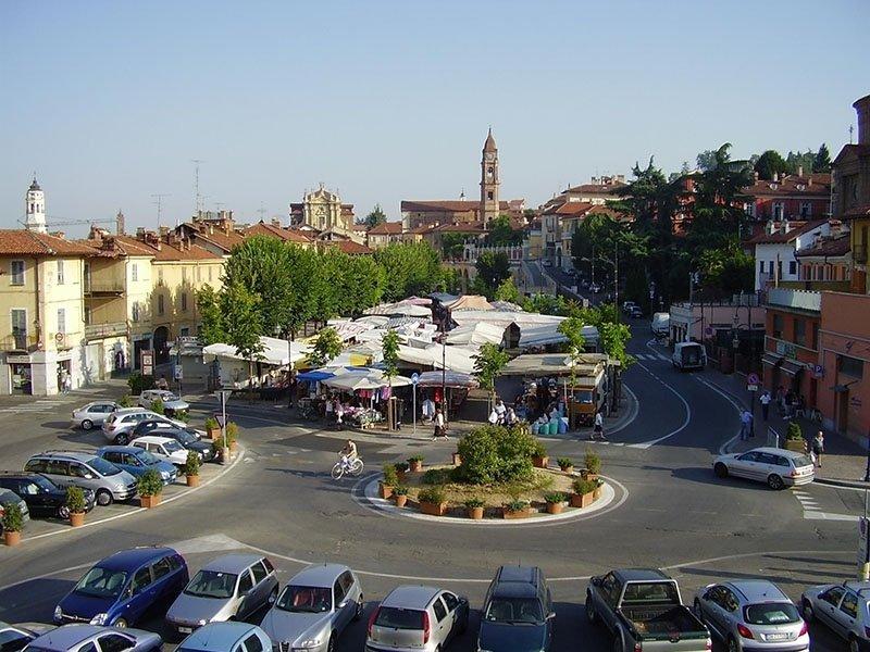 Bra piazza del mercato