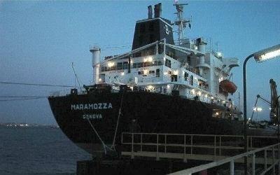 Disinfezione della nave Maramozza