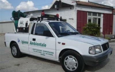 Il pick-up di Igiene Ambientale