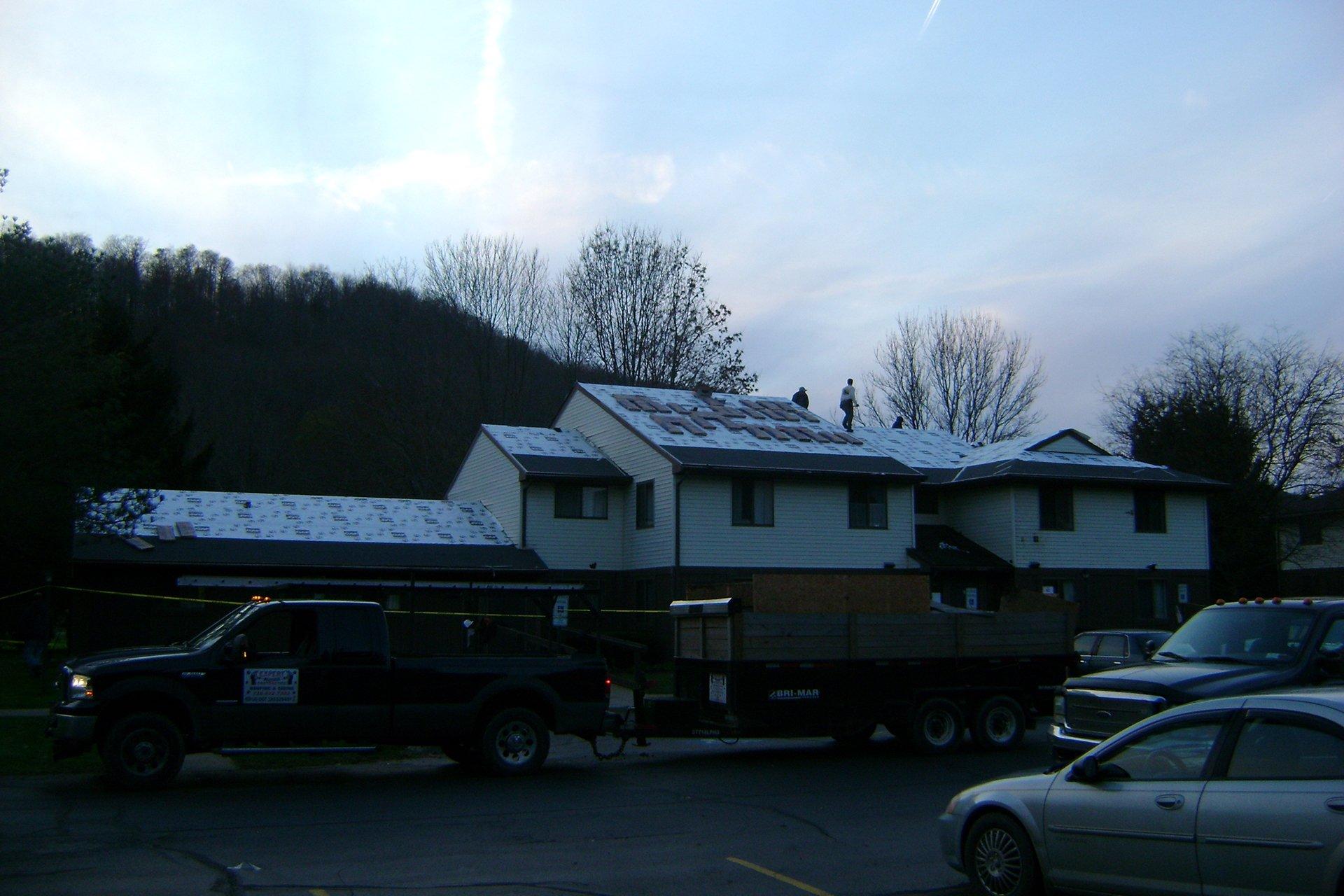 roof repair in Buffalo, NY