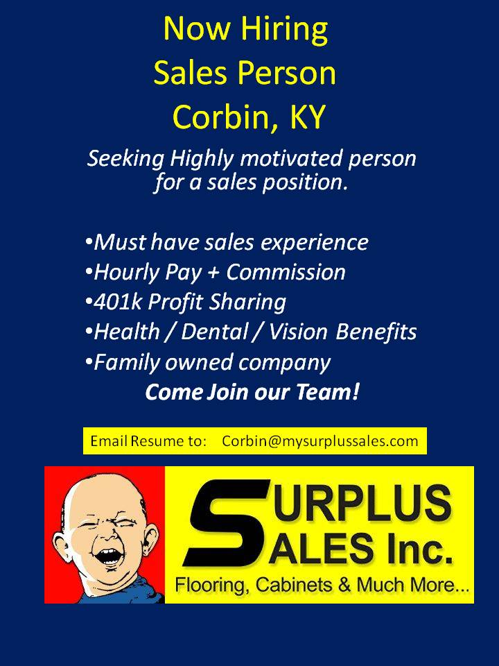 Surplus sales do it yourself corbin ky for Affordable furniture corbin ky