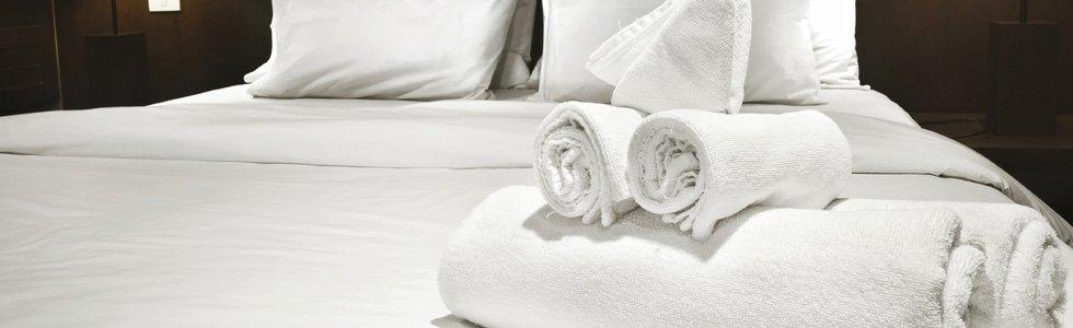 asciugamani per alberghi
