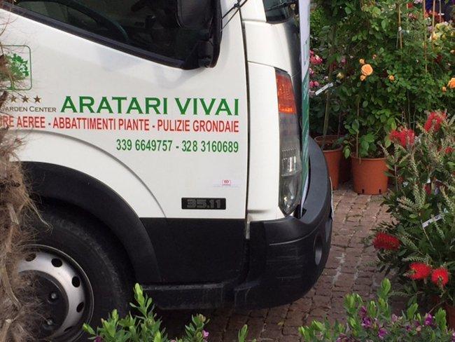 camion Aratari Vivai