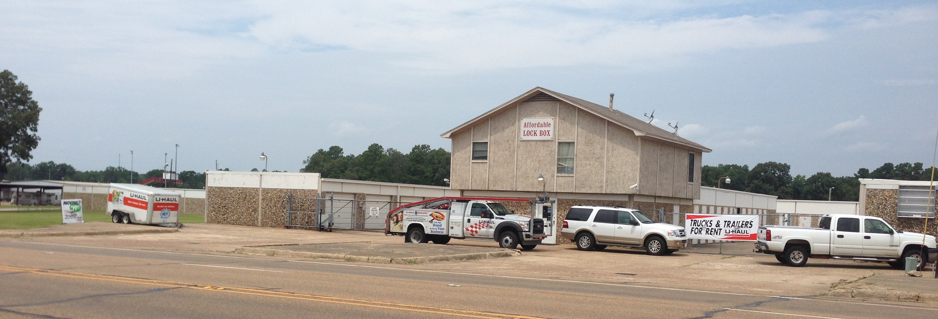 Our self storage units in Texarkana, AR