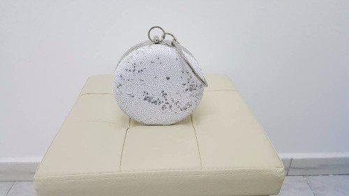 borsetta bianca daa cerimonia in strass