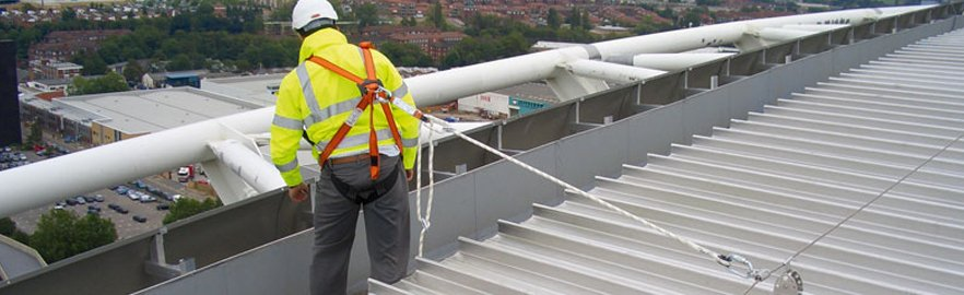 Professional Roofsafe Fall Arrest Systems In Central Scotland