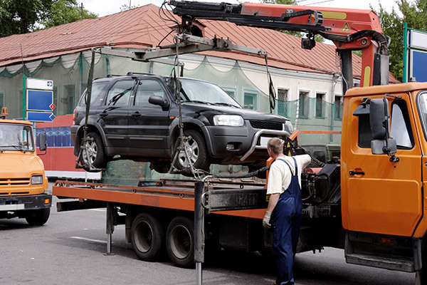 Car tow in Auckland