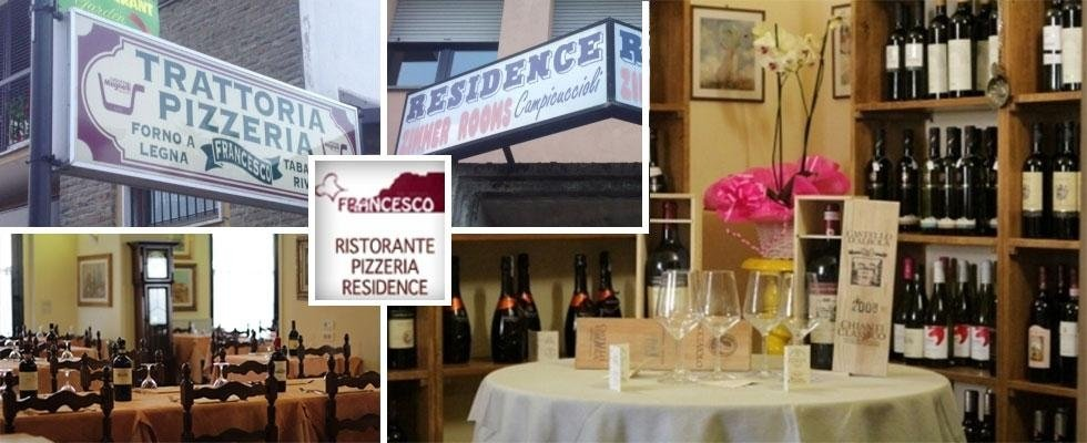 ristorante pizzeria affitta camere residence
