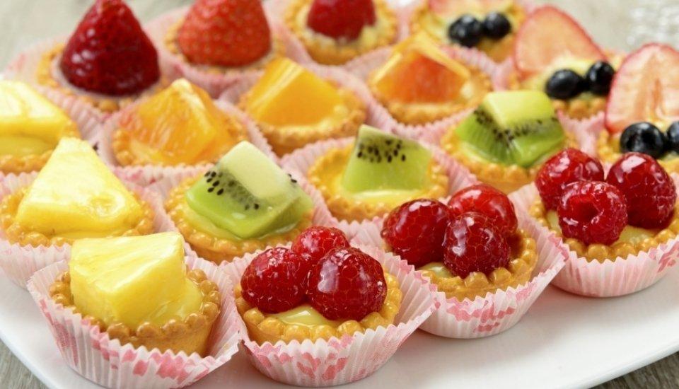cestini alla frutta