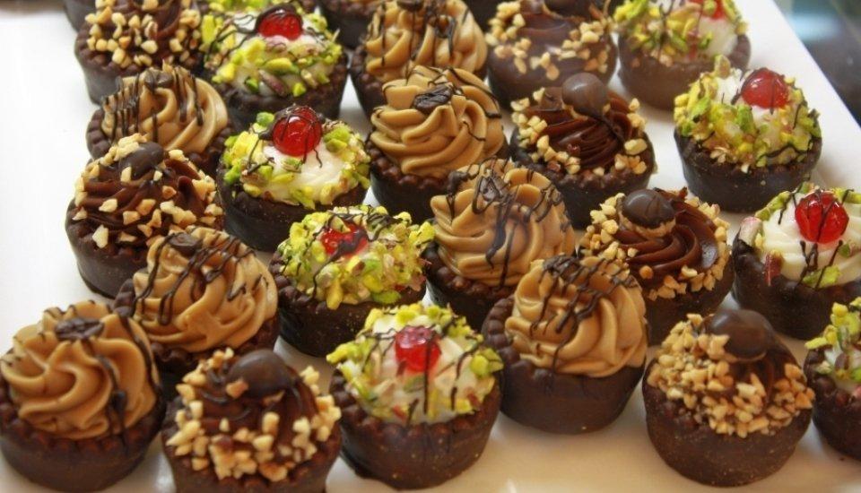 cremini di pistacchio e cioccolato