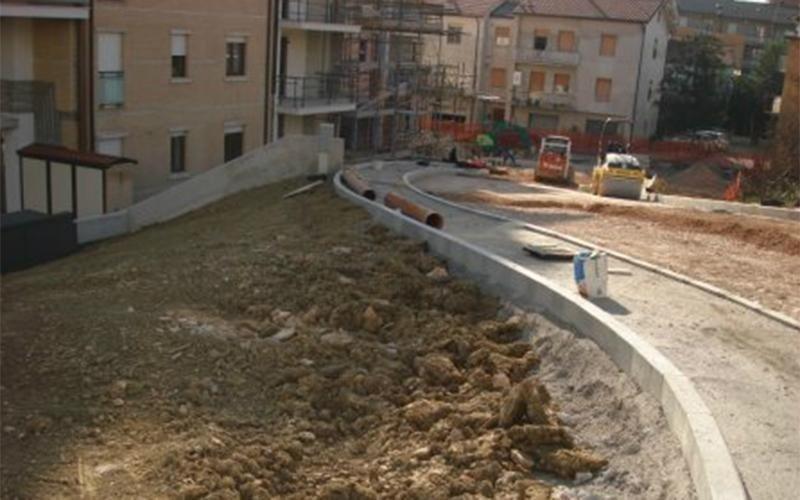 Opere urbanizzazione Macerata