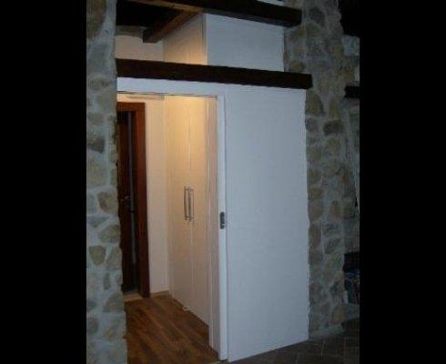 porte classiche legno, porte pannelli legno, produzione porte classiche