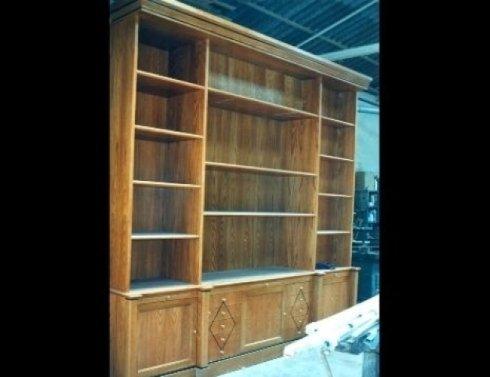 librerie soggiorno, librerie appartamenti, librerie legno personalizzate