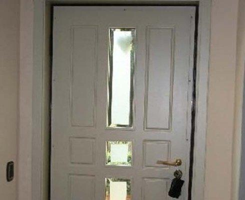 porta legno ingresso, porta ingresso bianca, porta legno bianca ingresso