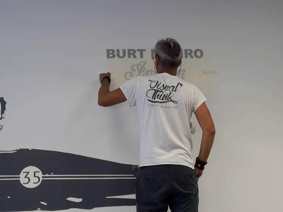 Creazione Stickers Murali Genova