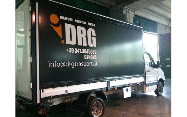 drg furgone decorazione