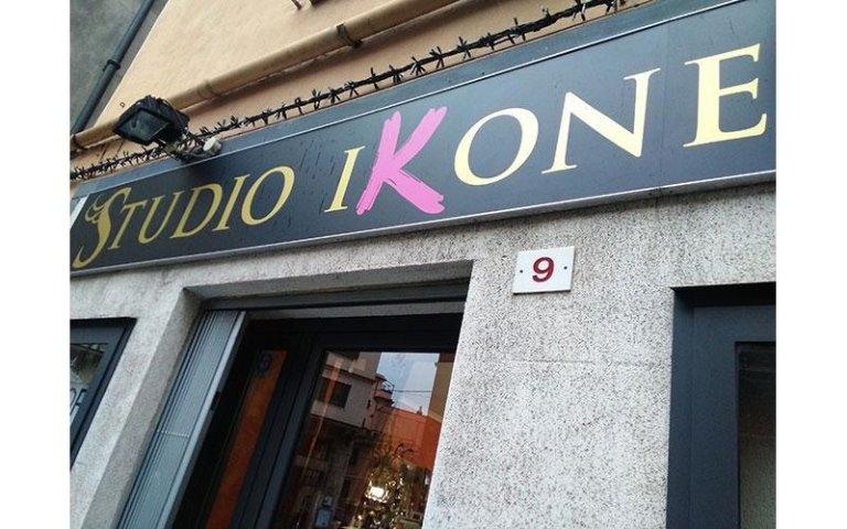 allestimento studio ikone