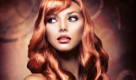 brown hair colour