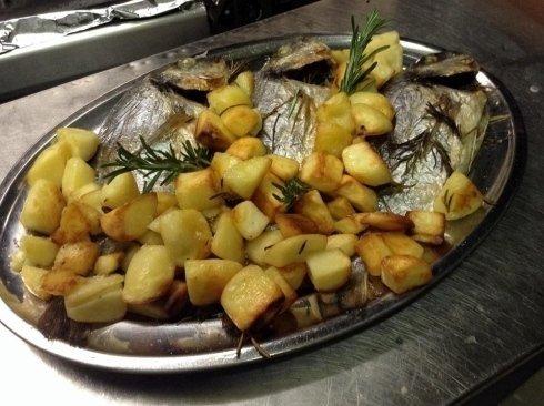 Secondi di pesce fresce