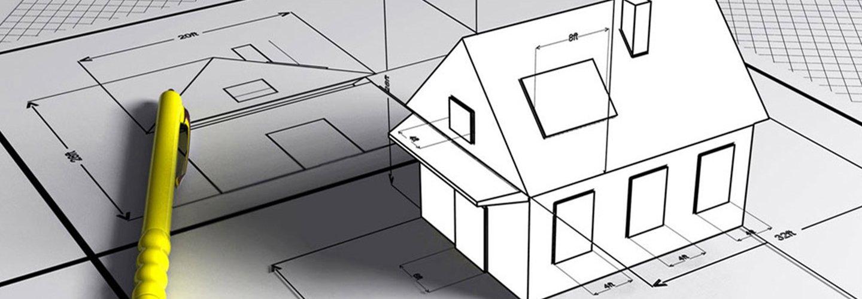 Disegno di una casa a Velletri